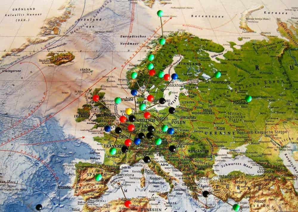 destinations for 2 weeks in Europe itinerary