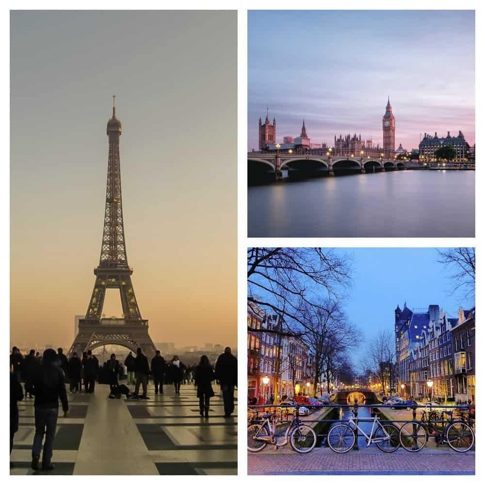 2 weeks in Europe Itinerary: Paris, London, Amsterdam