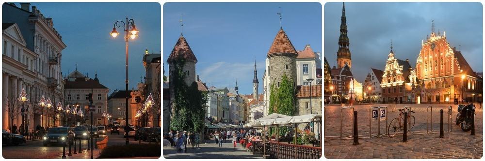 Vilnius, Tallin, Riga 2 weeks in Europe Itinerary