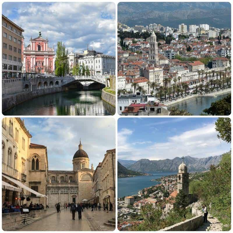 Ljubljana, Split, Dubrovnik, Kotor 2 weeks in Europe Itinerary
