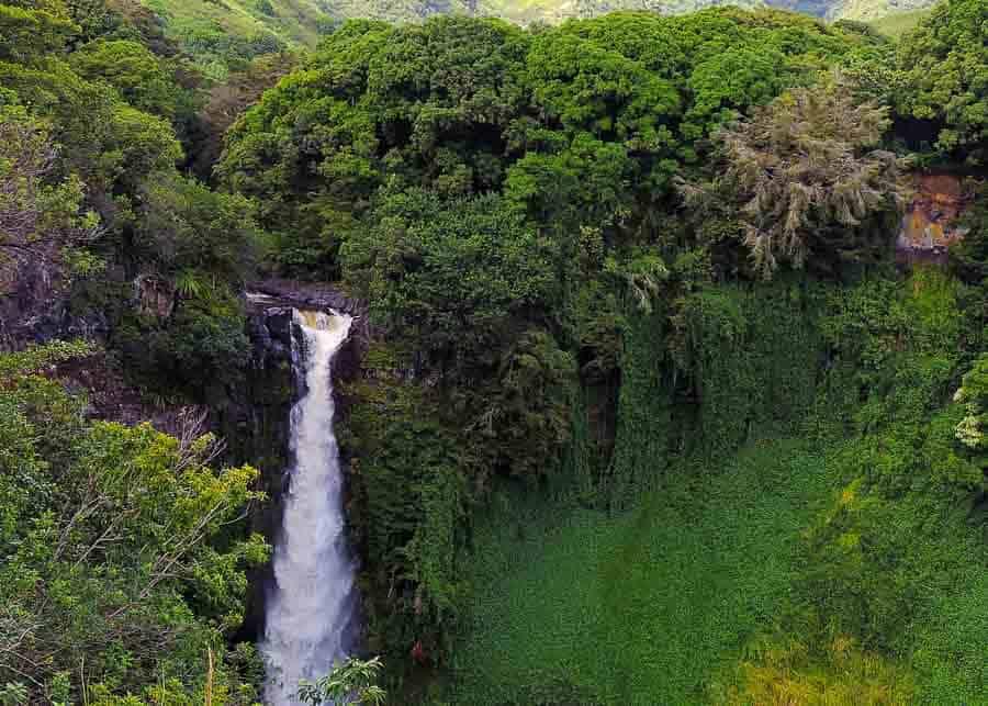 Kauai vs Maui: road to Hana