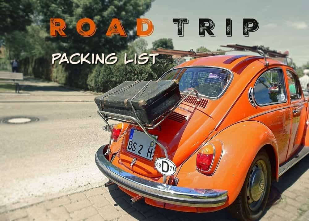 Road Trip Packing List