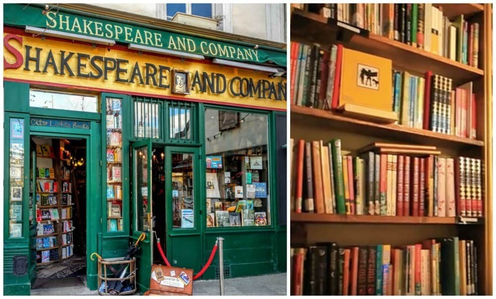 Shakespeare and Company 3 days in Paris itinerary