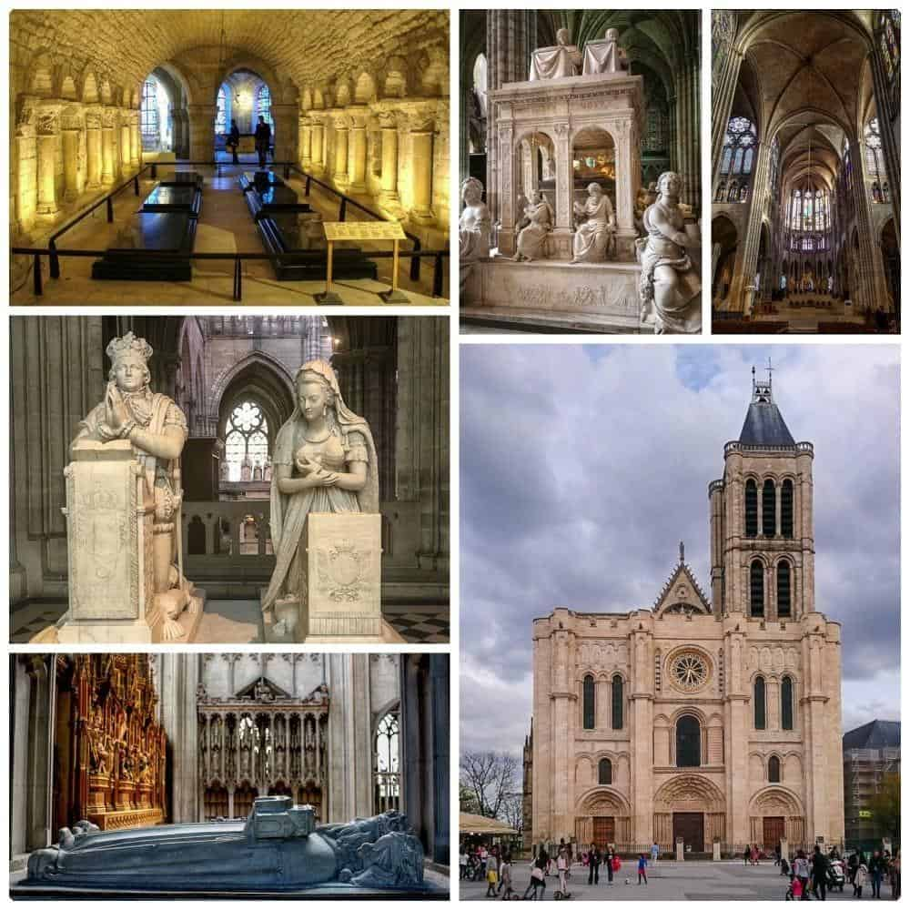 St. Denis Basilica outside Paris