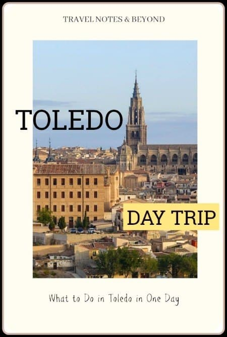 Day trip to Toledo from Madrid pin