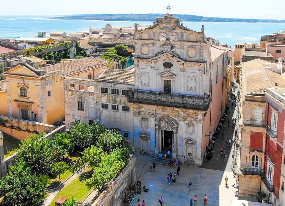The church of Santa Lucia
