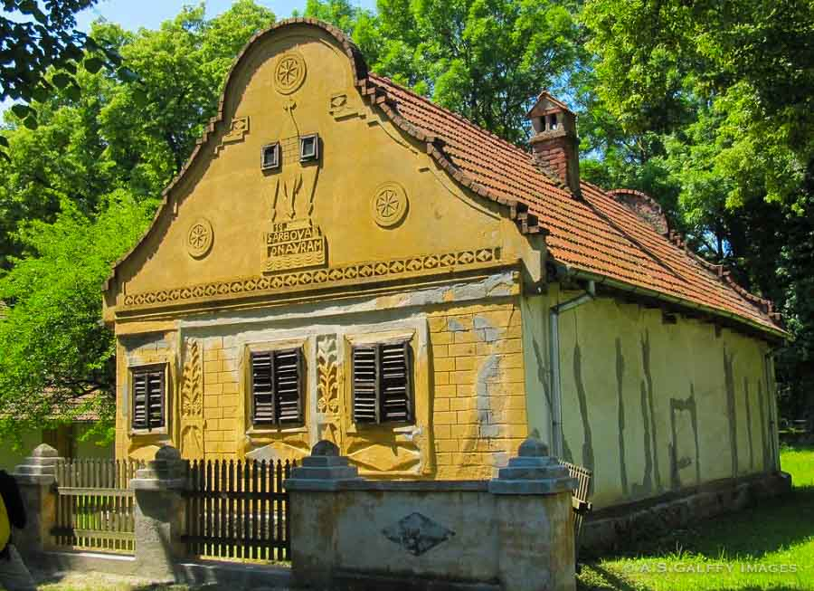 House from Gârbova at the Bucharest Village Museum