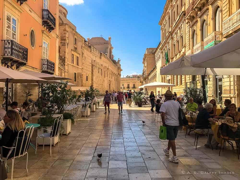 Ortigia Island, the Historic center of Siracusa, Sicily