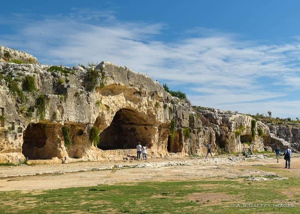The Archeological Park at Syracuse