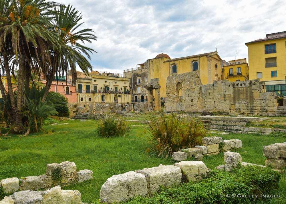 Temple of Apollo Ortegia Island, Sicily