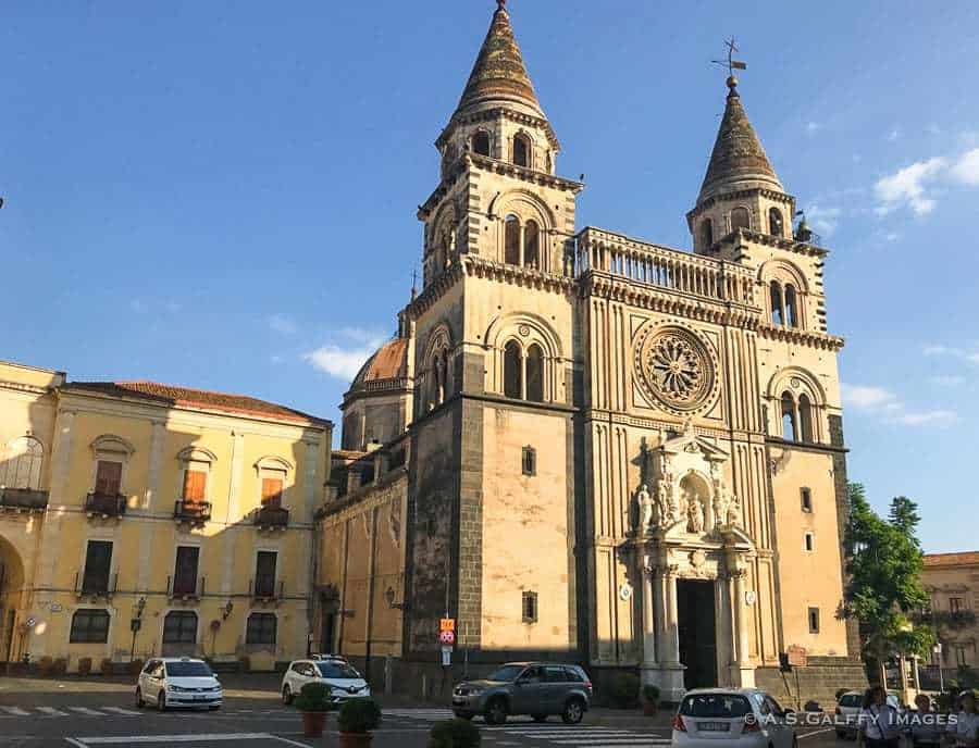 Acireale town in Sicily