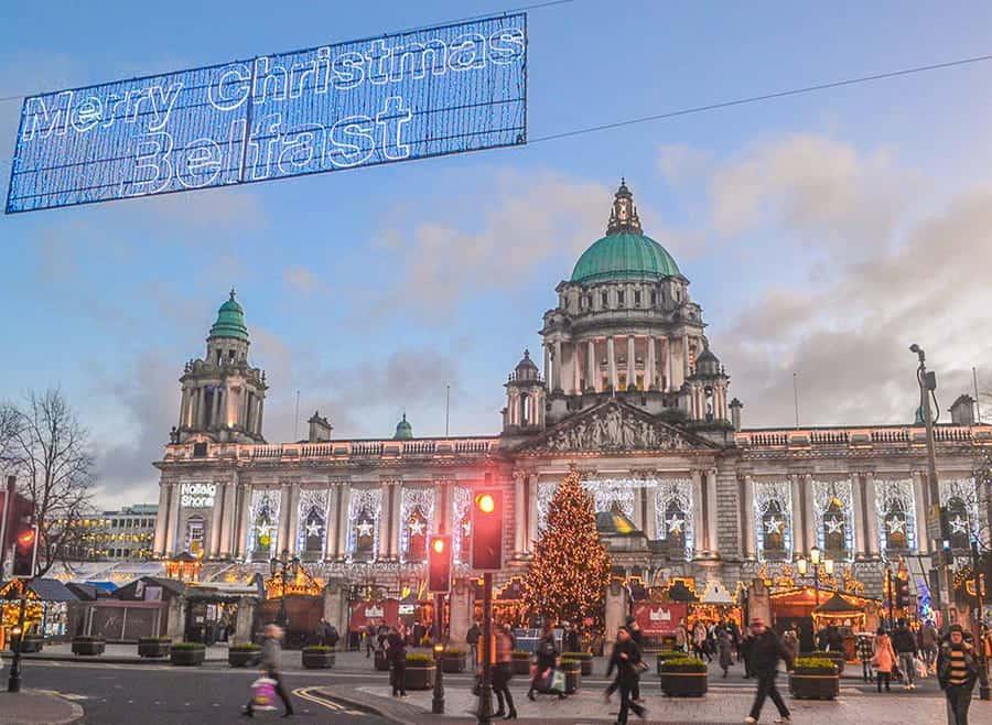 Belfast - best European Cities to visit in December