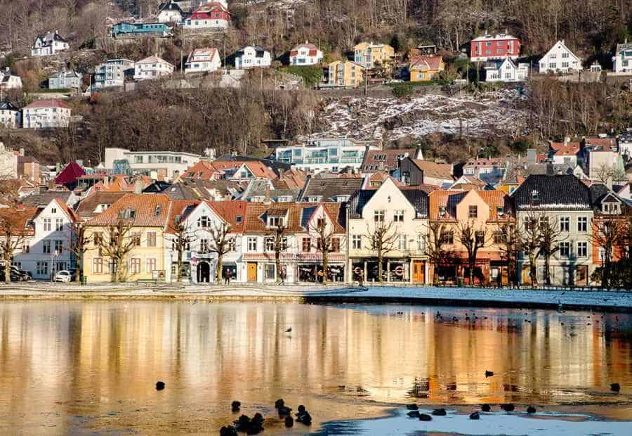 Bergen, best European cities to visit in Winter