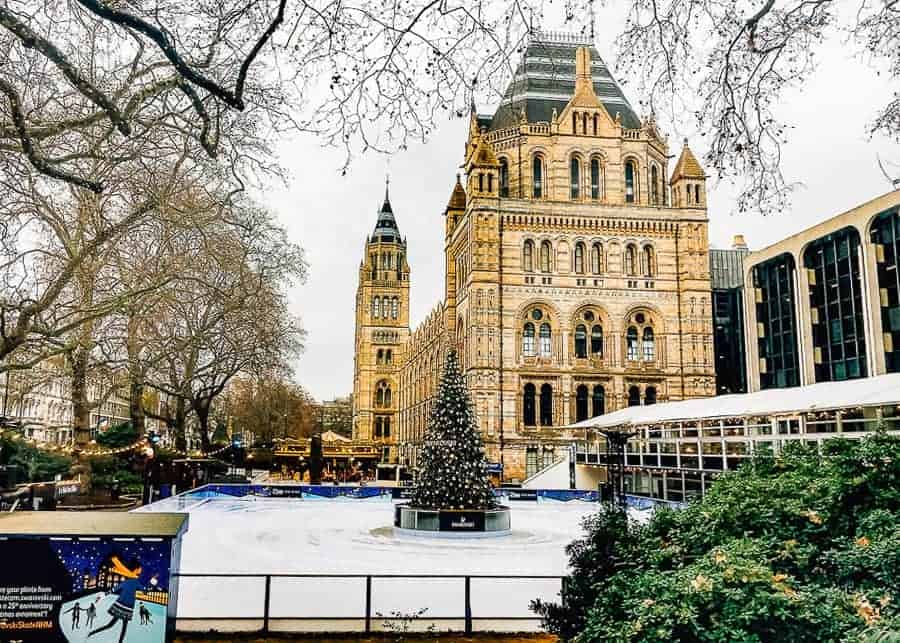 London, one of the best European cities to visit in December.
