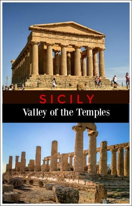 Visiting the Valley of the Temples in Sicily