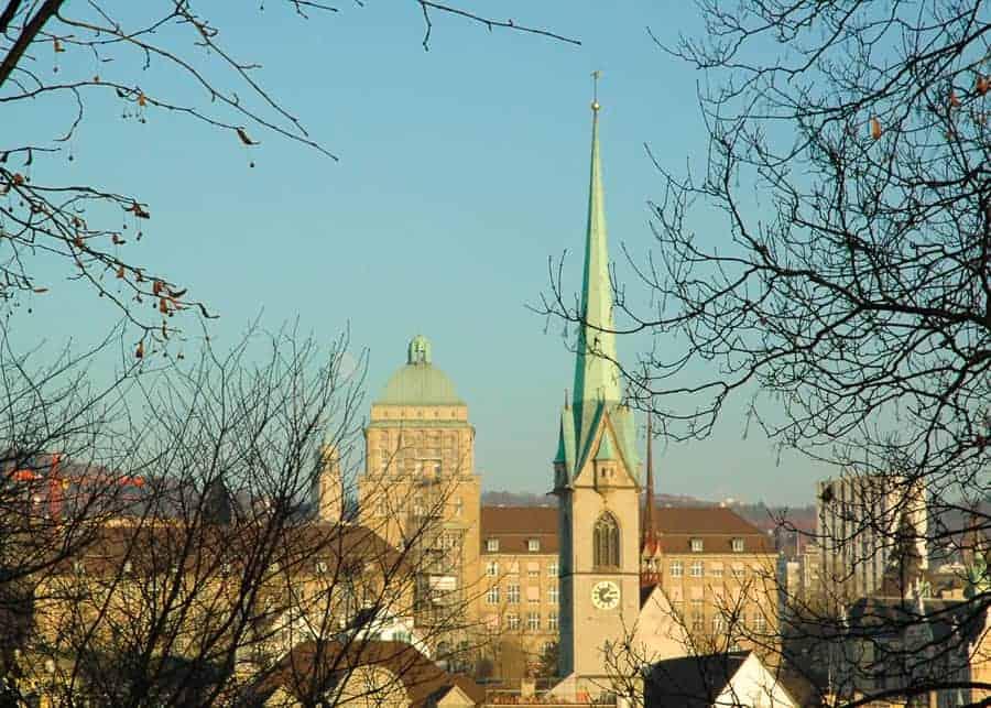 Zurich - best European Cities to visit in December