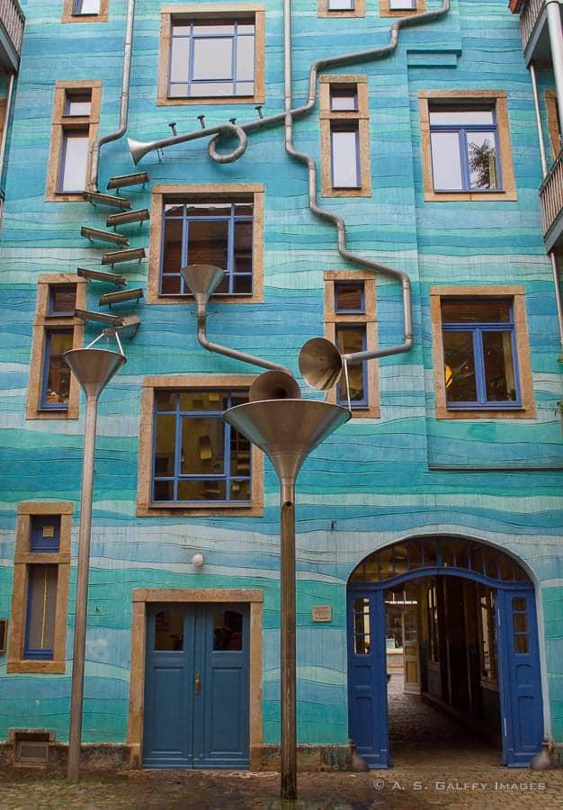 Europe bucket list - Kunsthoffpassage in Dresden