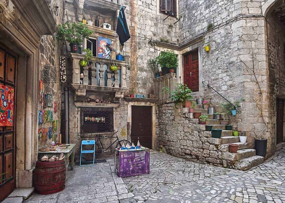 Visiting Trogir