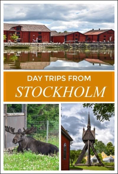 Day trips from Stockholm pin