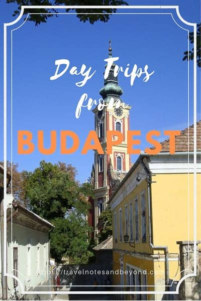 Day trips from Budapest pin