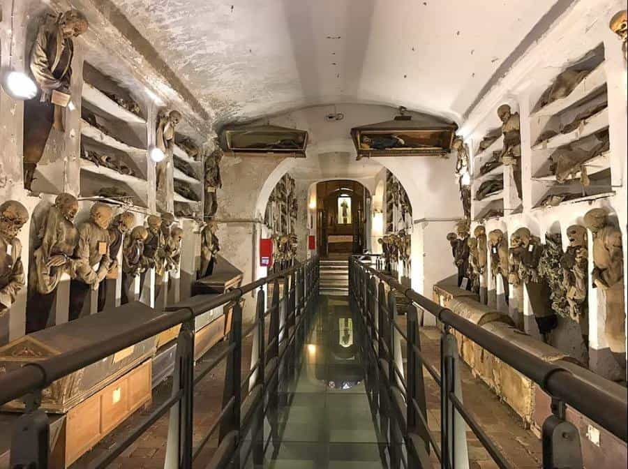 Inside the Capuchin Catacombs in Palermo