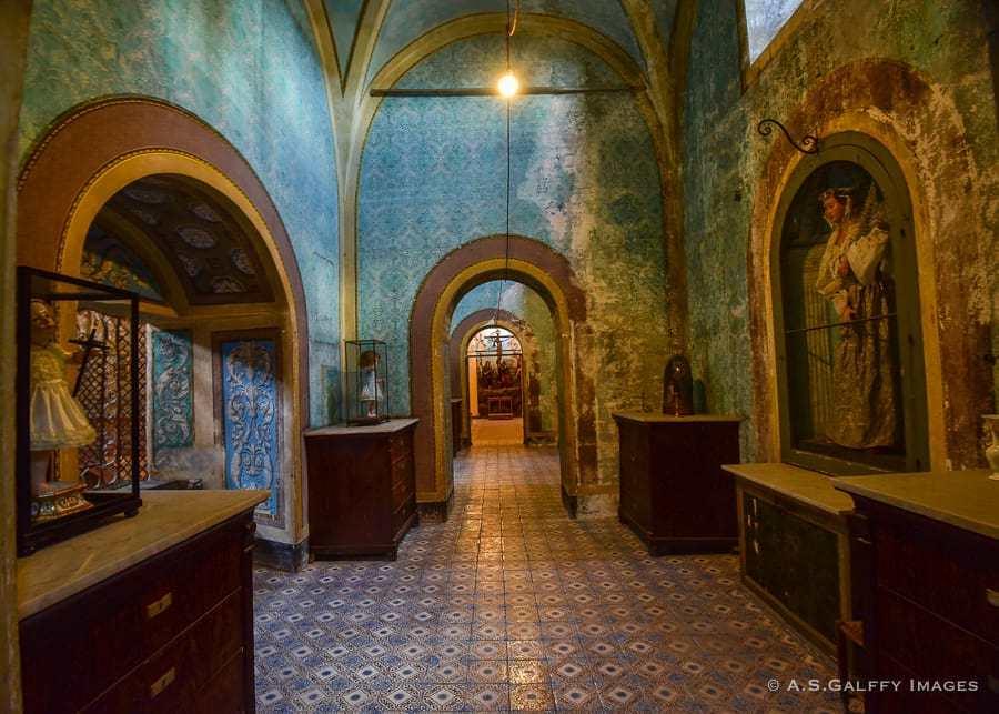 The museum at Santa Caterina Church, Palermo