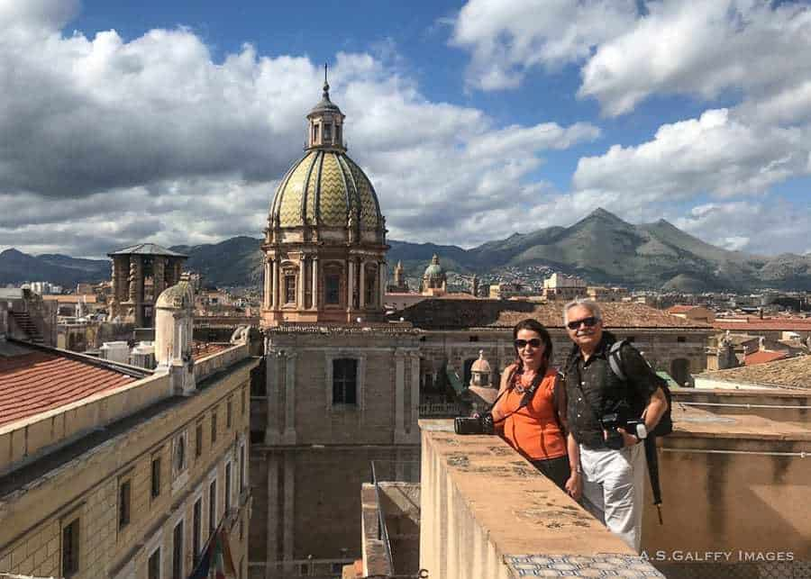 visiting the Palermo Cathedral