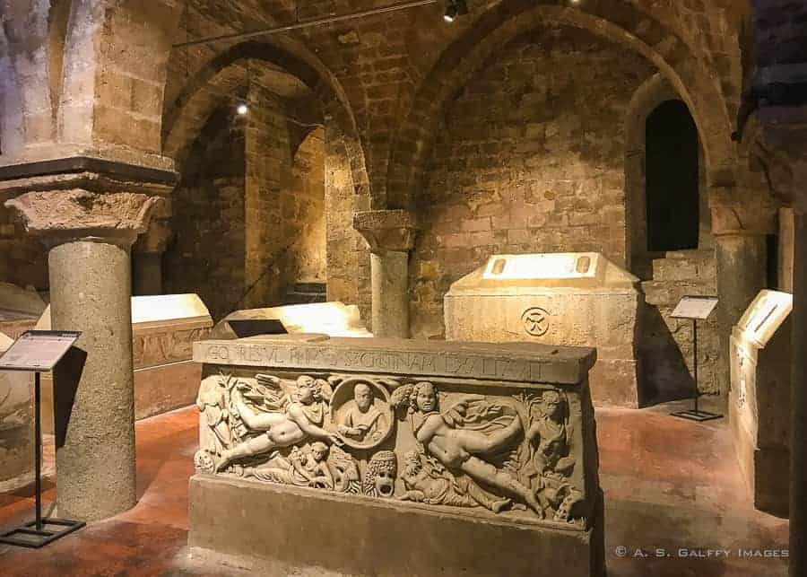 The Crypt at the Palermo Cathedral