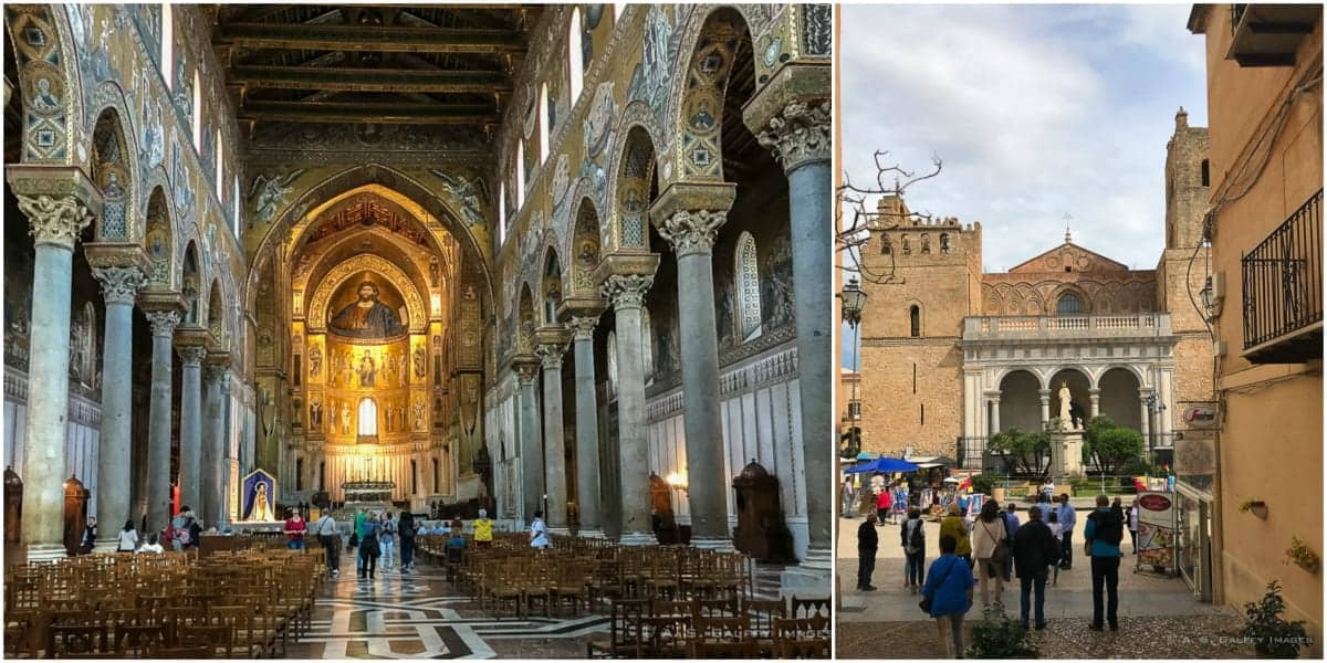 Things to in Palermo: visit the Montreale Cathedral