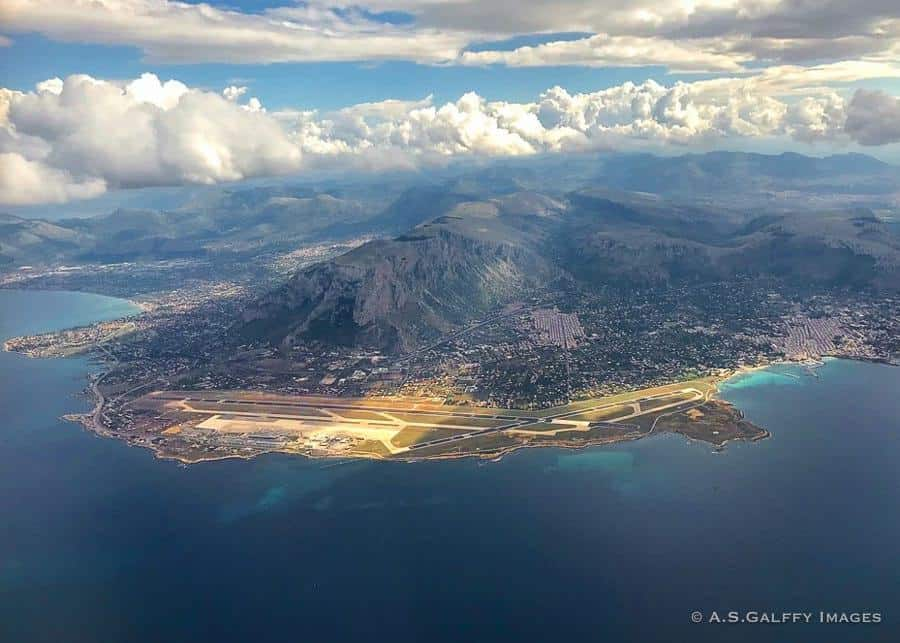 Palermo seen from the air