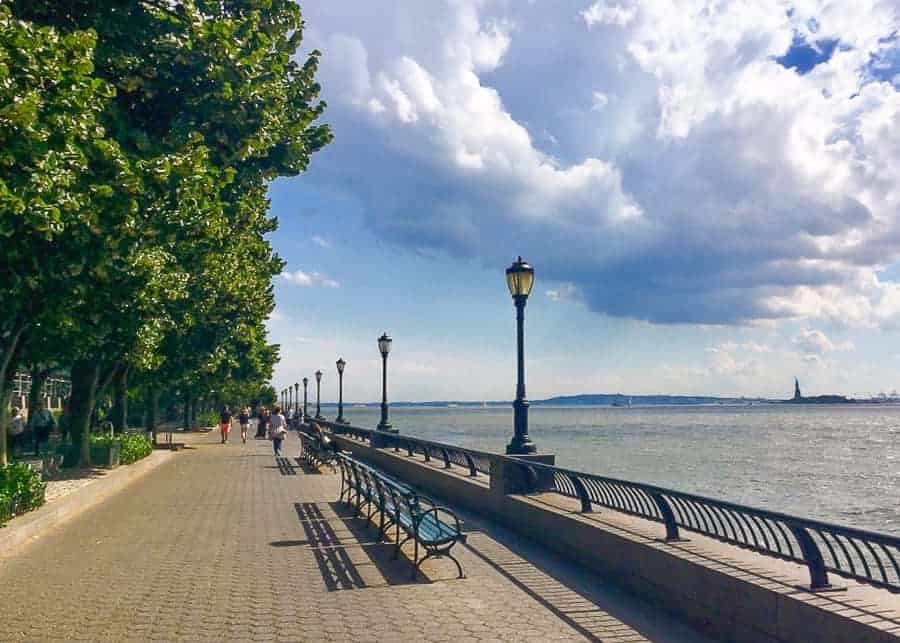 Battery Park Esplanade: 4 Days in New York Itinerary