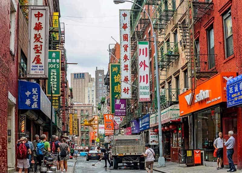 Chinatown: New York itinerary
