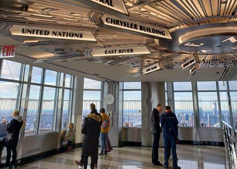 Empire State Building Observation Deck - 4 days in New York