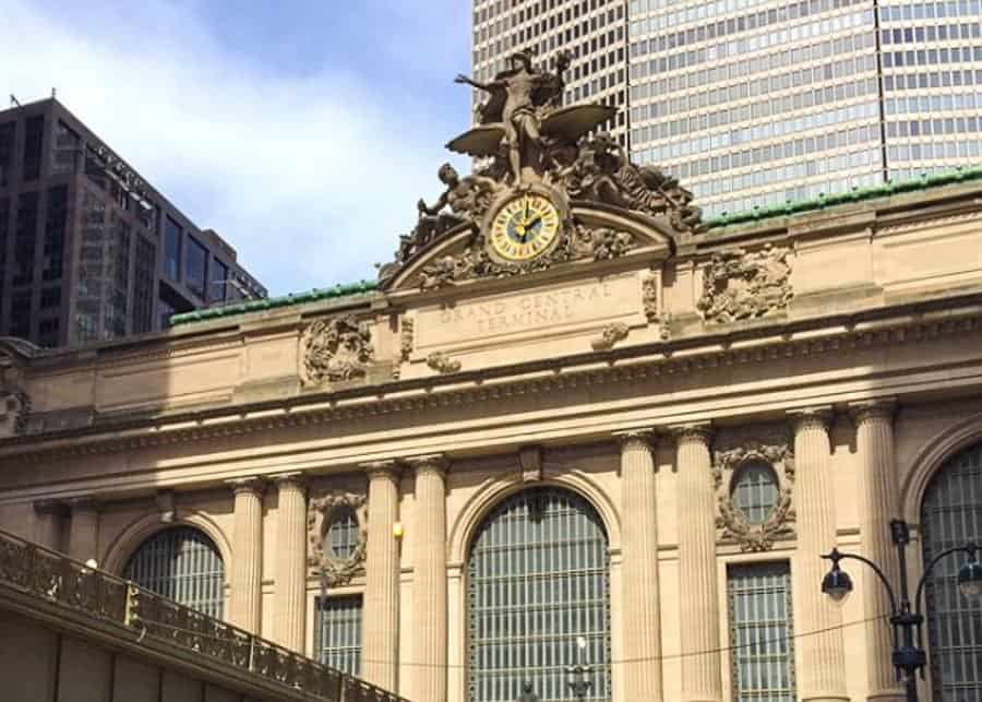 Outside clock at Grand Central Terminal