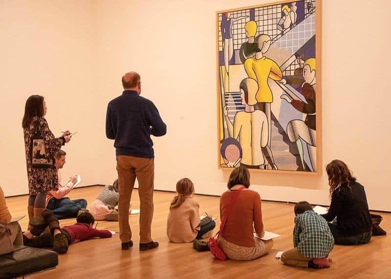 Museum of Modern Art in Manhattan