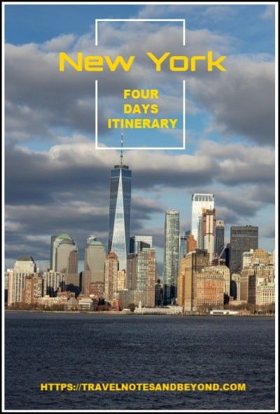 4 Days in New York itinerary