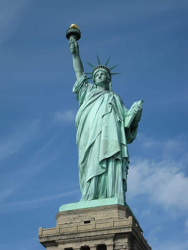 4 days in New York Itinerary: the Statue of Liberty