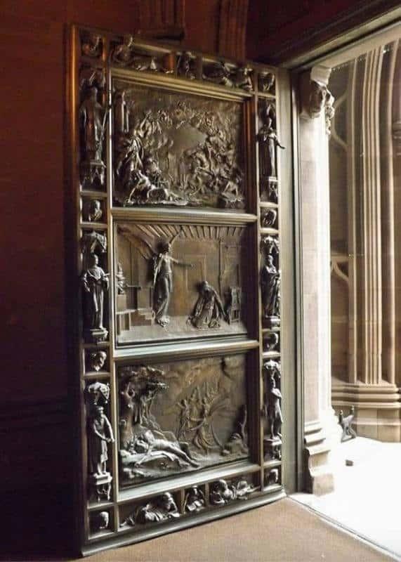 Trinity Church Bronze Door