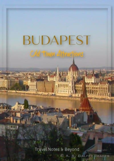 Budapest Old Town Attractions pin