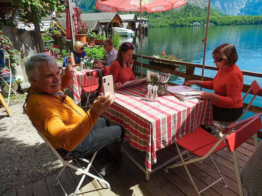 Dining in Hallstatt