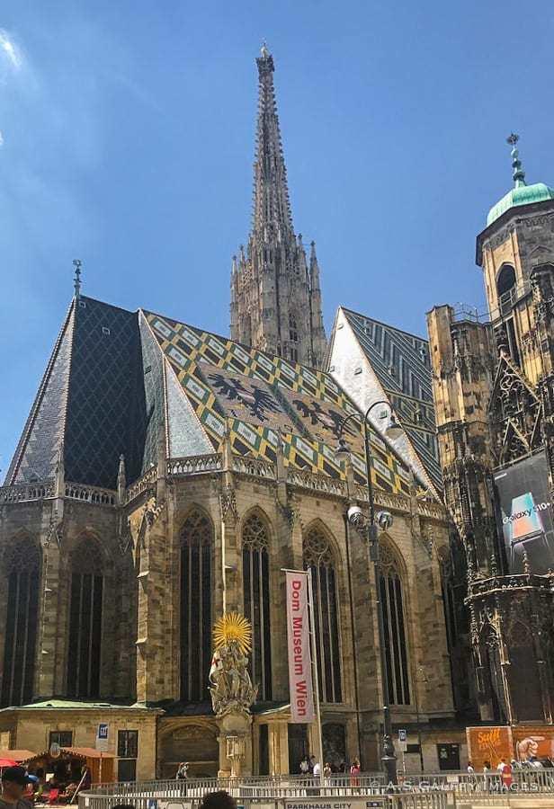 St. Stephen's church in Vienna
