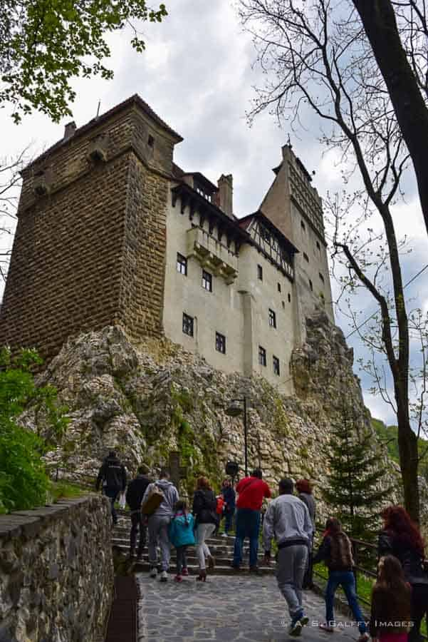 Bran, one of the most famous Castles in Romania