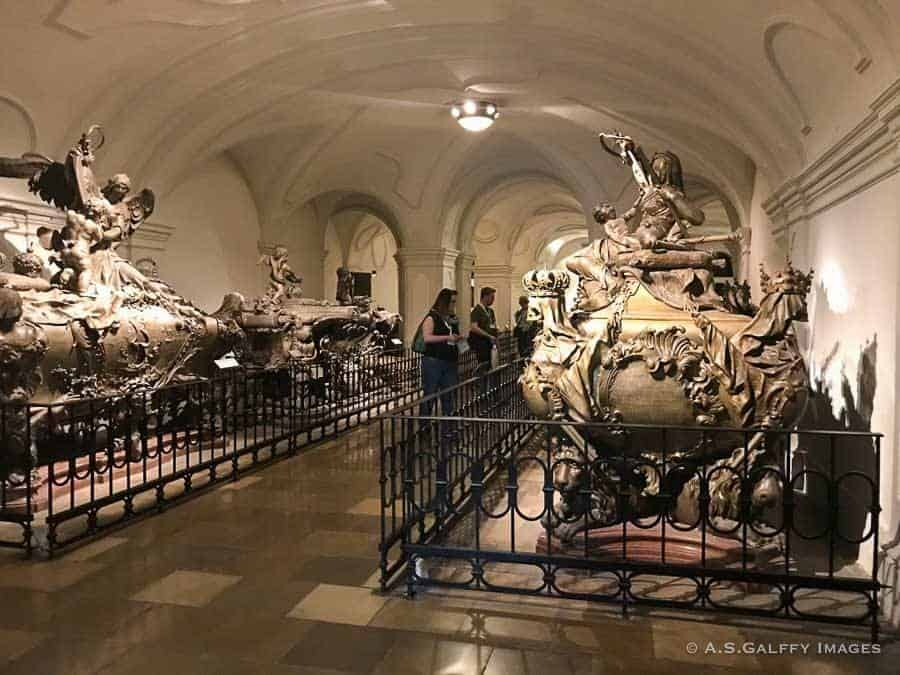 The Imperial Crypt underneath the Capuchin Church