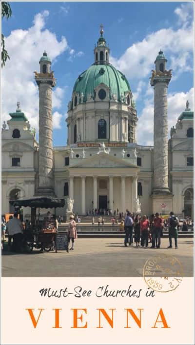 Churches in Vienna pin