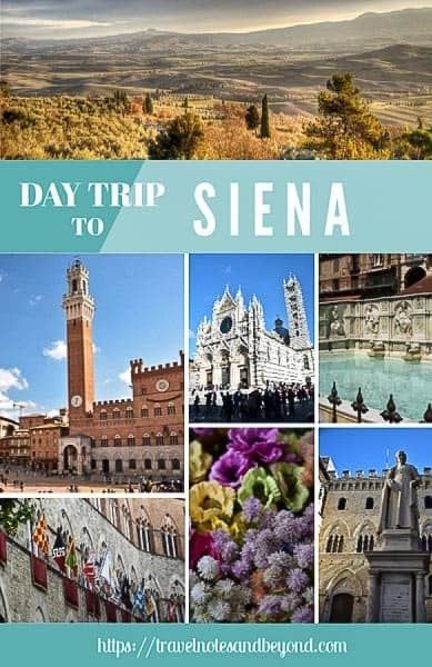 day trip to Siena from Florence