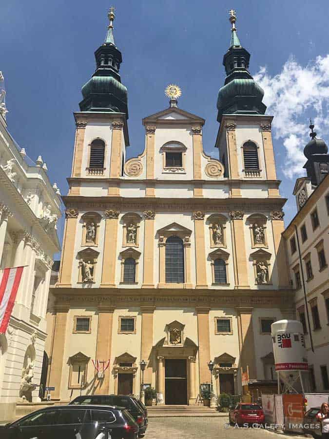the Jesuit Church in Vienna