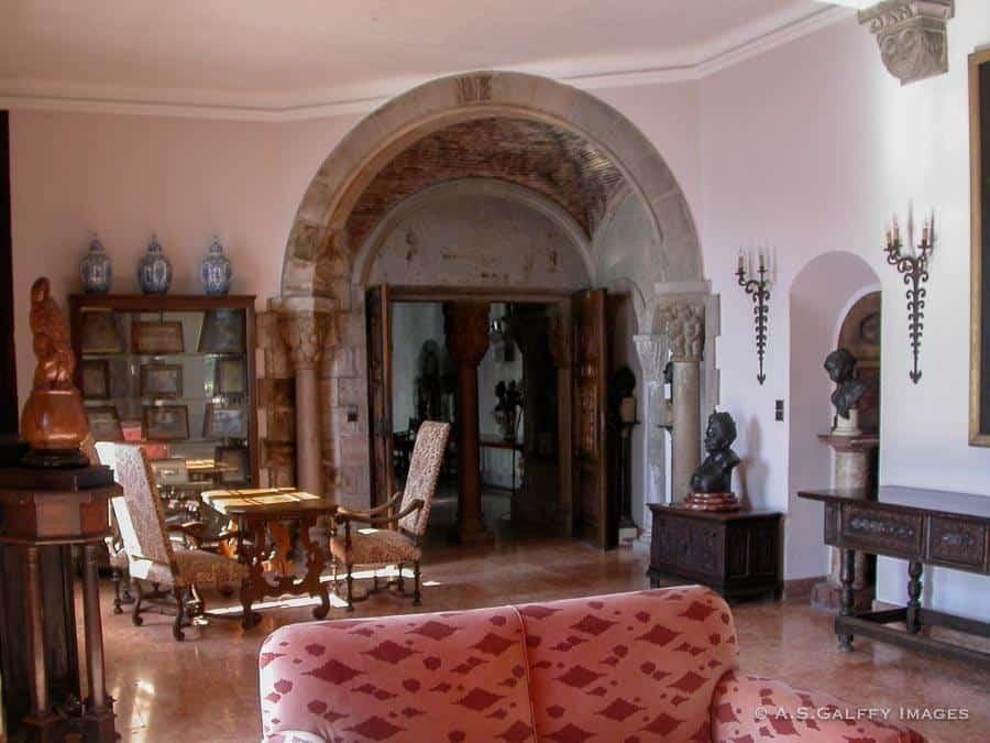 Room in the Chateau de la Napoule