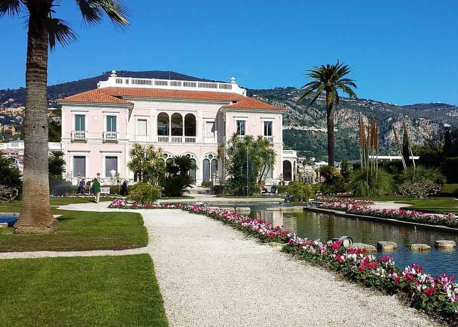 Villa Ephrussi on Cap Ferrat, near Nice
