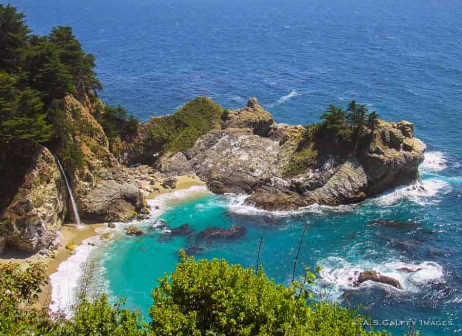 Big Sur stop on the drive from LA to San Francisco