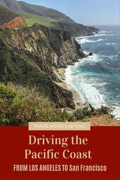 Driving the PCH from LA to San Francisco